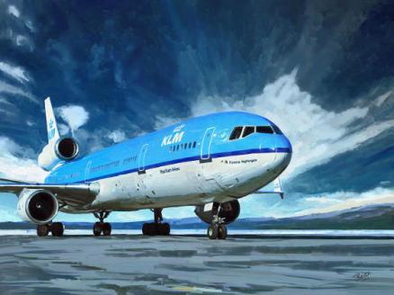 MD-11油絵